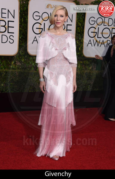Cate Blanchett - Beverly Hills - 10-01-2016 - Golden Globe 2016: gli stilisti sul red carpet