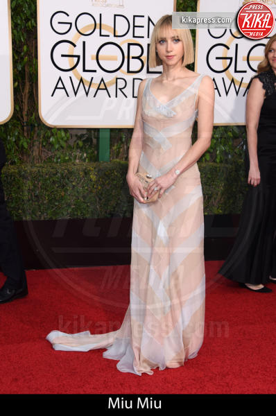 Zoe Kazan - Beverly Hills - 10-01-2016 - Golden Globe 2016: gli stilisti sul red carpet