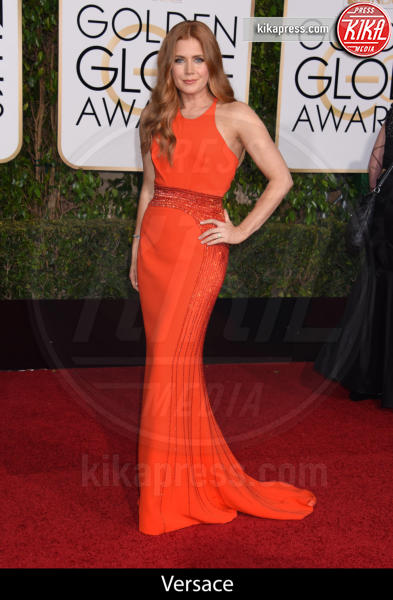 Amy Adams - Beverly Hills - 10-01-2016 - Golden Globe 2016: gli stilisti sul red carpet