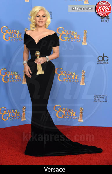 Lady Gaga - Beverly Hills - 10-01-2016 - Golden Globe 2016: gli stilisti sul red carpet