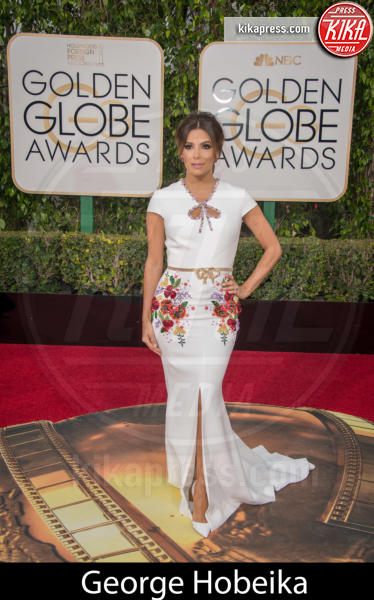 Eva Longoria - Beverly Hills - 10-01-2016 - Golden Globe 2016: gli stilisti sul red carpet