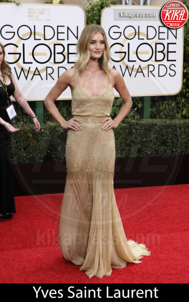 Rosie Huntington-Whiteley - Beverly Hills - 10-01-2016 - Golden Globe 2016: gli stilisti sul red carpet