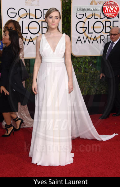 Saoirse Ronan - Beverly Hills - 10-01-2016 - Golden Globe 2016: gli stilisti sul red carpet