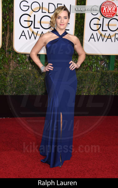 Kate Winslet - Beverly Hills - 10-01-2016 - Golden Globe 2016: gli stilisti sul red carpet