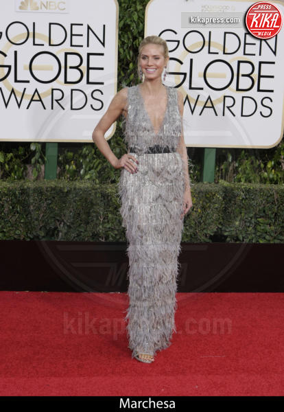 Heidi Klum - Beverly Hills - 10-01-2016 - Golden Globe 2016: gli stilisti sul red carpet