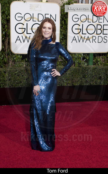 Julianne Moore - Beverly Hills - 10-01-2016 - Golden Globe 2016: gli stilisti sul red carpet