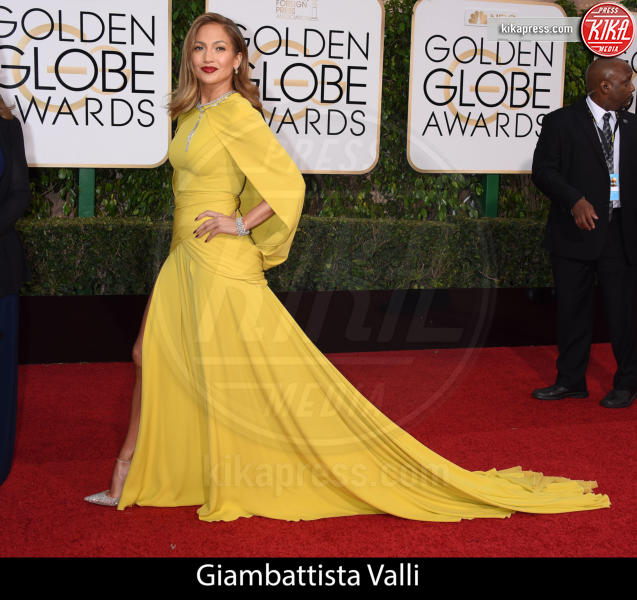 Jennifer Lopez - Beverly Hills - 10-01-2016 - Golden Globe 2016: gli stilisti sul red carpet