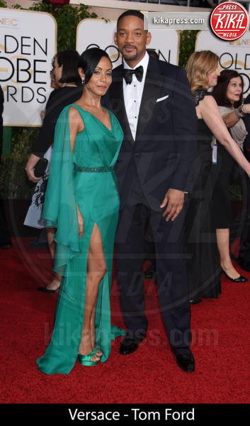 Will Smith, Jada Pinkett Smith - Beverly Hills - 10-01-2016 - Golden Globe 2016: gli stilisti sul red carpet