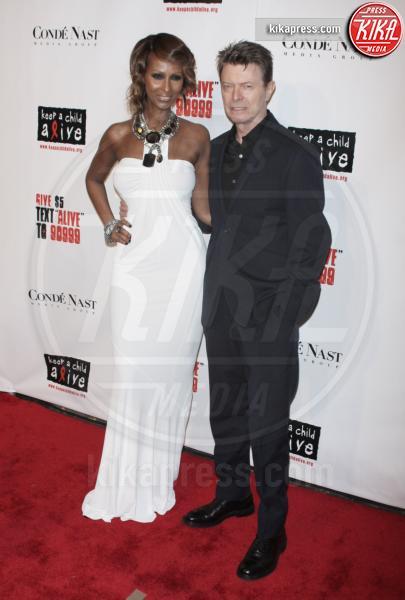 David Bowie, Iman - New York - 13-11-2008 - David Bowie, l'uomo che cadde sulla Terra