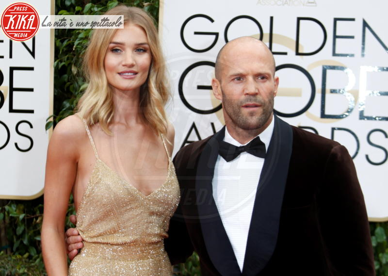 Rosie Huntington-Whiteley, Jason Statham - Los Angeles - 10-01-2016 -