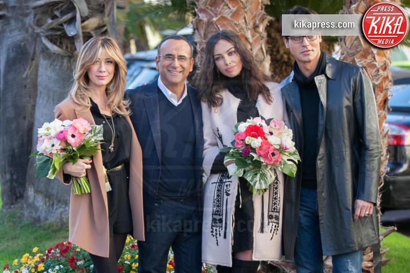 Virginia Raffaele, Carlo Conti, Gabriel Garko, Madalina Ghenea - Sanremo - 11-01-2016 - Paura per Gabriel Garko, ricoverato in ospedale