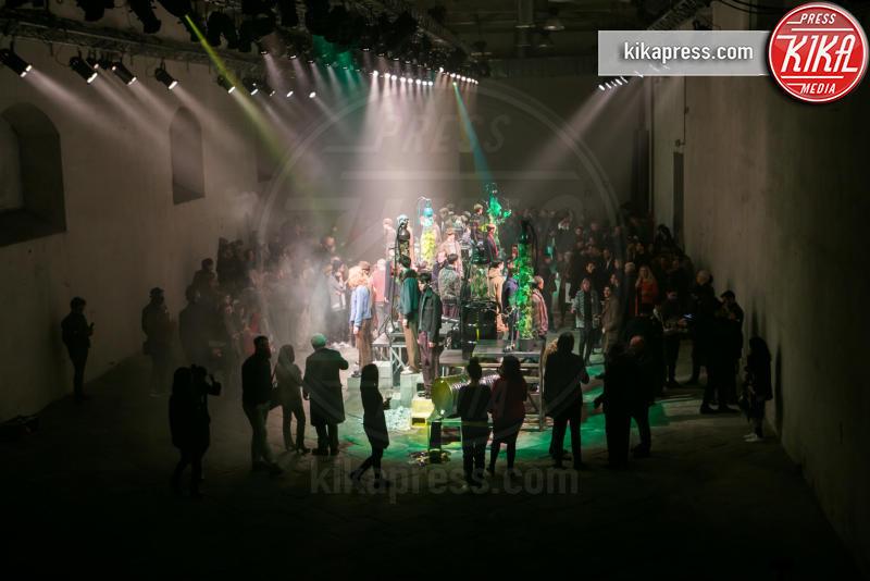 Federico Curradi fashion show - Firenze - 12-01-2016 - Pitti Uomo 89: l'esordio di Federico Curradi