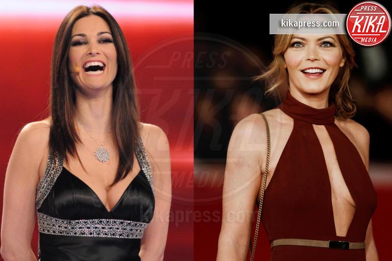 Vittoria Belvedere, Manuela Arcuri - Sanremo - 12-01-2016 - Sanremo senza vallette? Ricordiamo le ex protagoniste