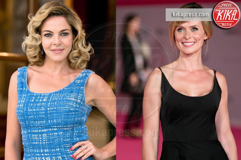 Serena Autieri, Claudia Gerini - Sanremo - 12-01-2016 - Sanremo senza vallette? Ricordiamo le ex protagoniste