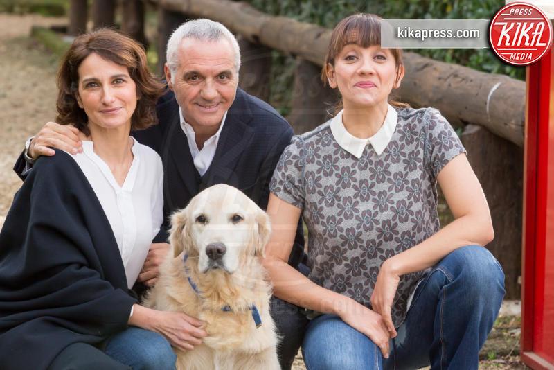 Lorenza Indovina, Lucia Ocone, Giorgio Panariello - Roma - 13-01-2016 - Tutti insieme all'improvviso: Panariello alla prova fiction