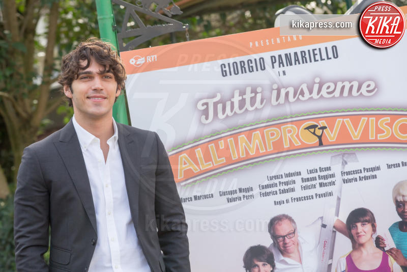 Giuseppe Maggio - Roma - 13-01-2016 - Tutti insieme all'improvviso: Panariello alla prova fiction