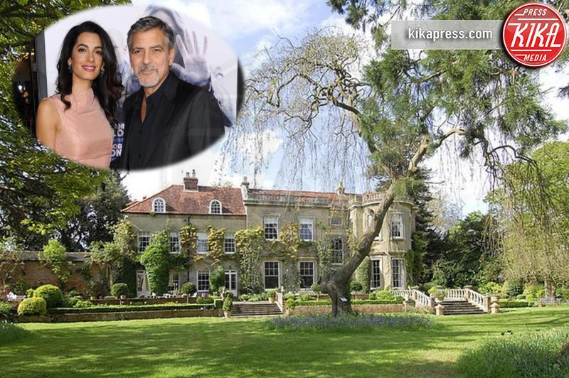 Amal Alamuddin, George Clooney - Londra - 13-01-2016 - Qui sono nati i gemellini Clooney: entrate con noi