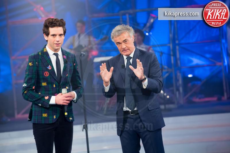 Mika, Massimo Giletti - Roma - 14-01-2016 - Rai, L'Arena chiude i battenti. Che fine farà Massimo Giletti?