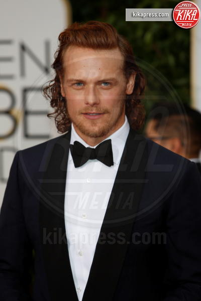 Sam Heughan - Beverly Hills - 10-01-2016 - Outlander, dal 9 aprile in TV la seconda serie