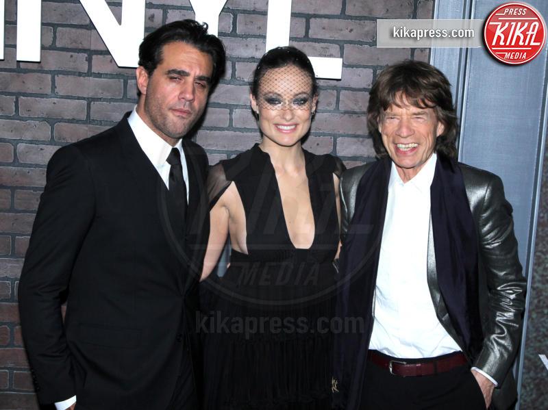 Bobby Cannavale, Mick Jagger, Olivia Wilde - New York - 15-01-2016 - Mick Jagger e Martin Scorsese rivivono il rock anni '70 in Vinyl
