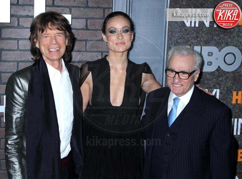Mick Jagger, Martin Scorsese, Olivia Wilde - New York - 16-01-2016 - Dal cinema alla tv: quando la star si dà al piccolo schermo