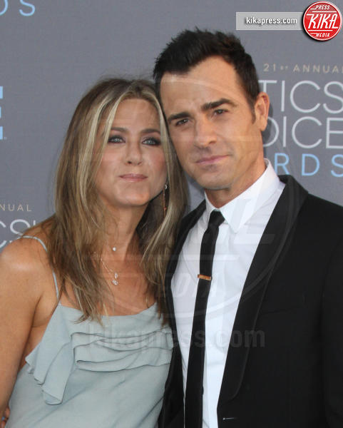 Justin Theroux, Jennifer Aniston - Los Angeles - 17-01-2016 - Fedez e Chiara Ferragni: nascono i Ferraz