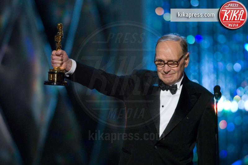 Ennio Morricone - Hollywood - 25-02-2007 - Ennio Morricone, per la sesta volta candidato agli Oscar