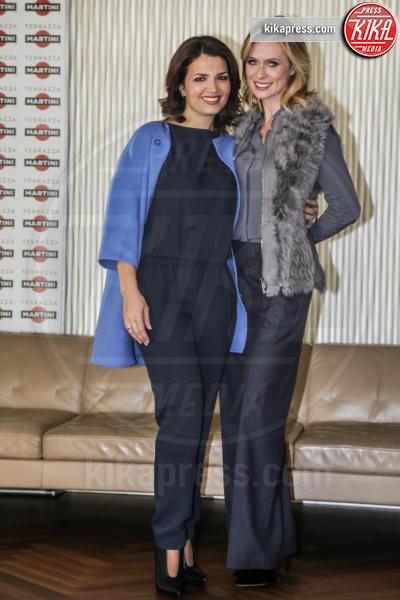 Tosca D'Aquino, Serena Autieri - Milano - 19-01-2016 - Vincenzo Salemme torna al cinema con Se mi lasci non vale