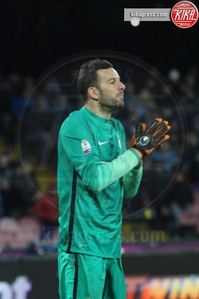 Samir Handanovic - Napoli - 19-01-2016 - Napoli-Inter, Mancini:
