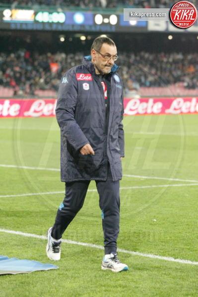 Maurizio Sarri - Napoli - 19-01-2016 - Napoli-Inter, Mancini: