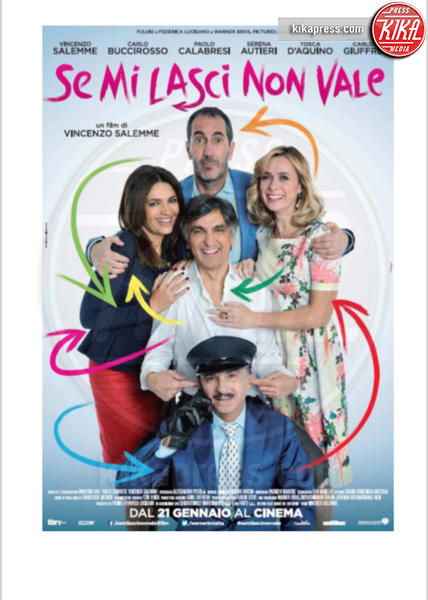 Se mi lasci non vale - 20-01-2016 - Vincenzo Salemme torna al cinema con Se mi lasci non vale
