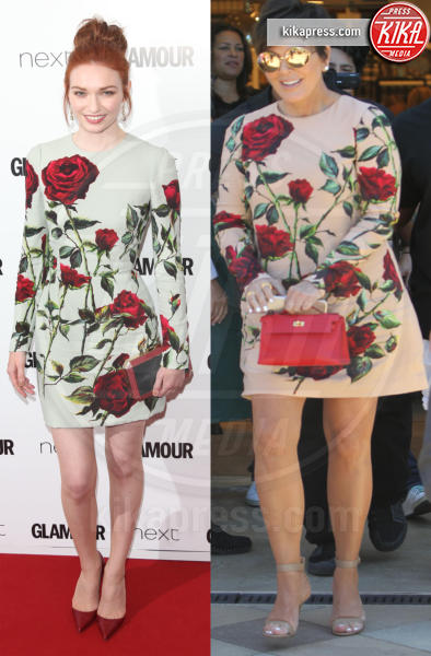 Eleanor Tomlinson, Kris Jenner - 22-01-2016 - Chi lo indossa meglio? Kris Jenner ed Eleanor Tomlinson