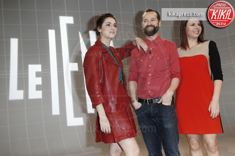 Geppi Cucciari, Miriam Leone, Fabio Volo - Milano - 23-01-2016 - Ecco i nuovi conduttori dello show Le Iene