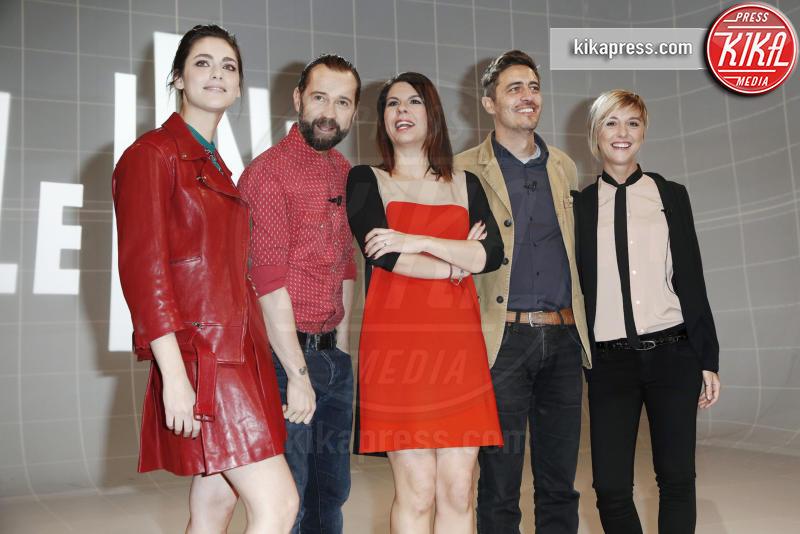 Nadia Toffa, Pif, Geppi Cucciari, Miriam Leone, Fabio Volo - Milano - 23-01-2016 - Ecco i nuovi conduttori dello show Le Iene