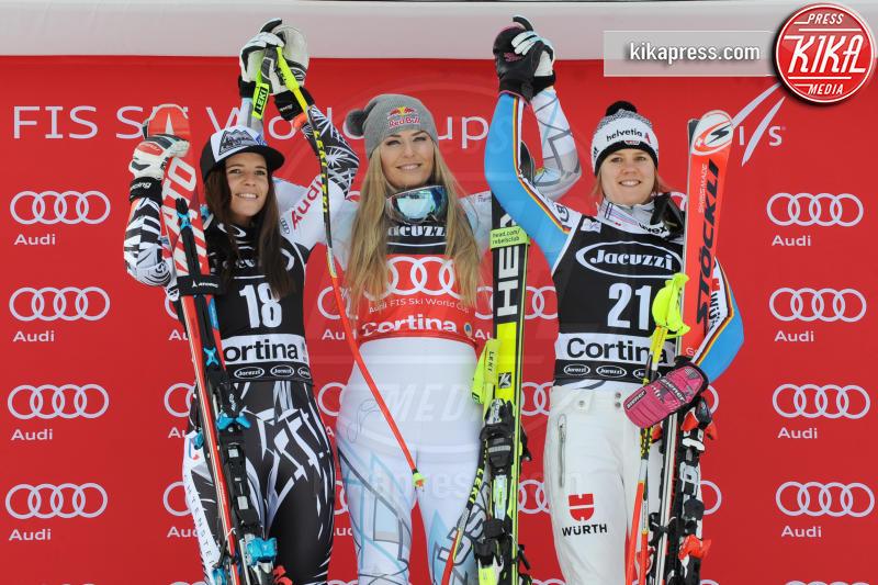 Tina Weirather, Viktoria Rebensburg, Lindsey Vonn - Cortina - 24-01-2016 - Lindsey Vonn: il segreto del suo successo è...