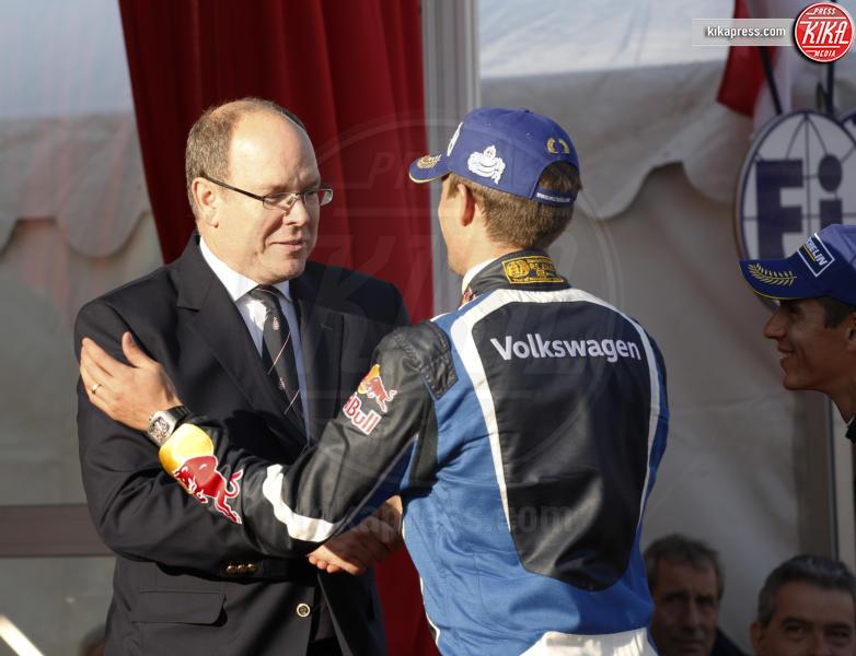 Sebastien Ogier, Principe Alberto di Monaco - Monaco - 24-01-2016 - Alberto di Monaco premia i vincitori del Rally di Montecarlo