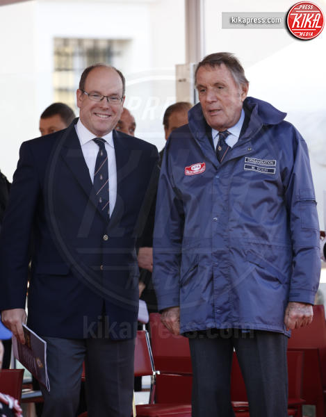 Principe Alberto di Monaco - Monaco - 24-01-2016 - Alberto di Monaco premia i vincitori del Rally di Montecarlo