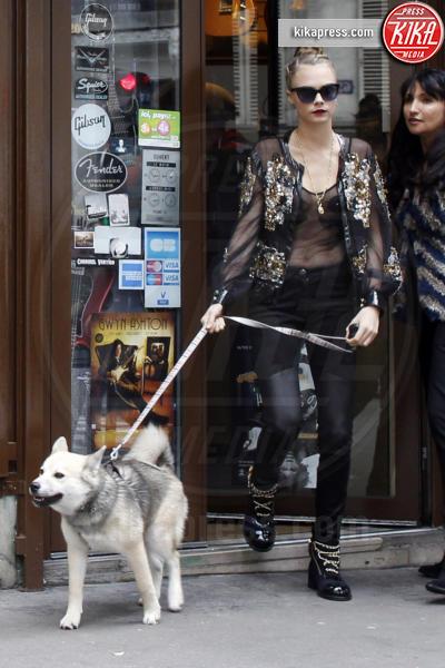Cara Delevingne - Parigi - 26-01-2016 - Star come noi: la vita non è la stessa senza un cane