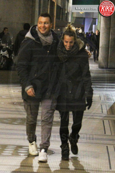 Stefano Parolin, Tania Cagnotto - Milano - 12-12-2015 - Debutta sui social il pancino di Tania Cagnotto