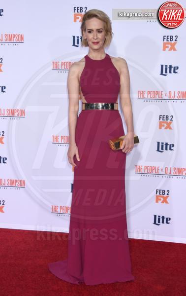 Sarah Paulson - Westwood - 27-01-2016 - Chi lo indossa meglio: Sarah Paulson o Katherine Jenkins?
