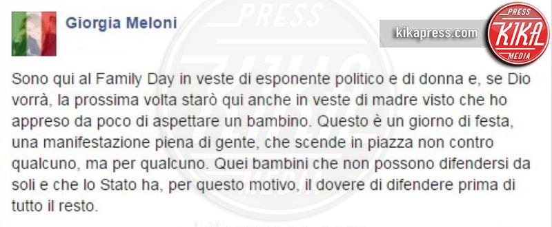 Giorgia Meloni - Roma - 30-01-2016 -