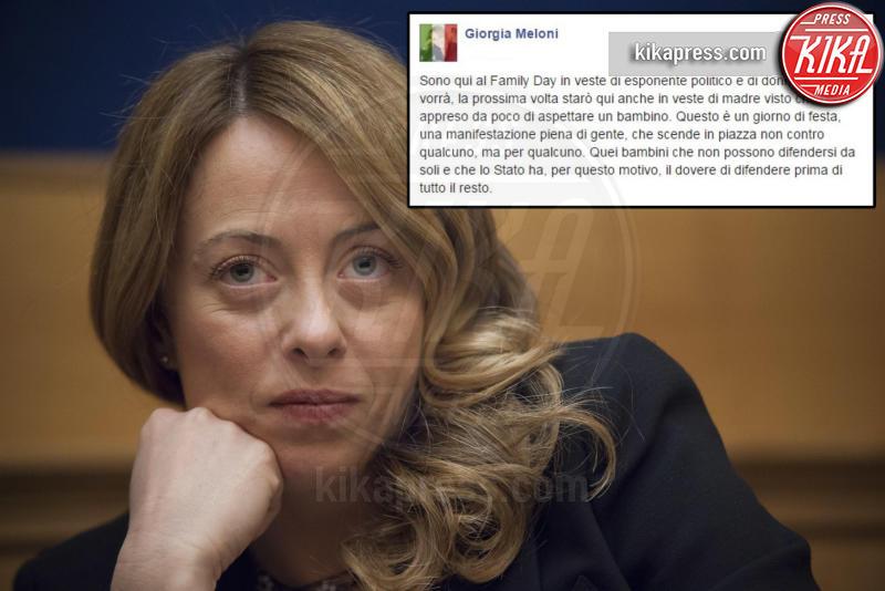 Giorgia Meloni - Roma - 30-01-2016 - Andrea Giambruno si prepara a diventare papà