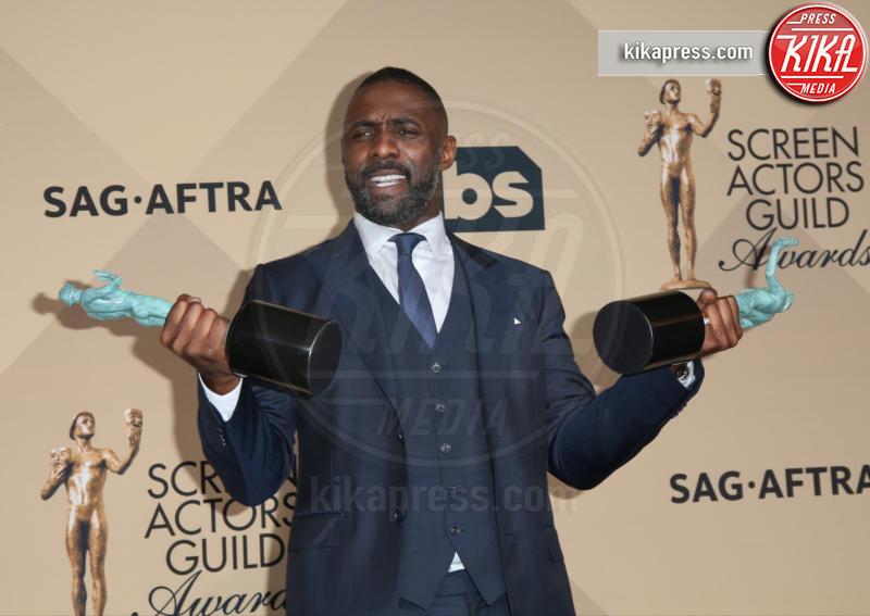 Idris Elba - Los Angeles - 30-01-2016 - Iris Elba star di Guerrilla, miniserie sulla Londra anni '70
