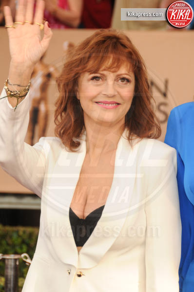 Susan Sarandon - Los Angeles - 30-01-2016 - Susan Sarandon e Jessica Lange, in tv per Feud