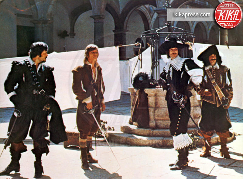 Frank Finlay, Oliver Reed, Richard Chamberlain, Michael York - Londra - 20-04-2006 - Addio Frank Finlay, protagonista de La Chiave di Tinto Brass