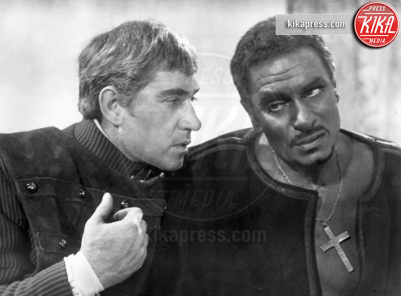 Frank Finlay, Laurence Olivier - Londra - 20-04-2006 - Addio Frank Finlay, protagonista de La Chiave di Tinto Brass