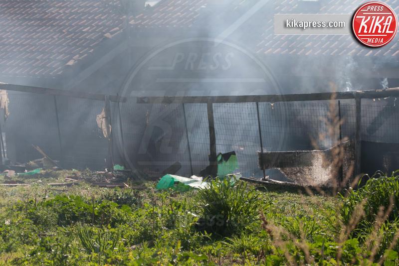 Villa della Rosa, Gabriel Garko - Sanremo - 01-02-2016 - Gabriel Garko fuori pericolo: le foto della villa esplosa