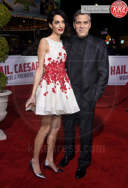 Amal Alamuddin, George Clooney - Westwood - 01-02-2016 - George Clooney: