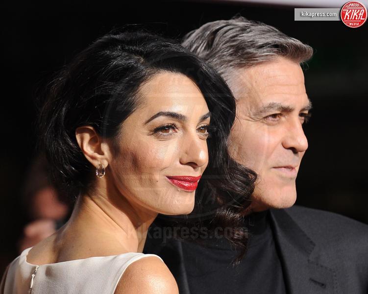 Amal Alamuddin, George Clooney - Westwood - 01-02-2016 - Amal, ma sei incinta di due gemelli oppure no?
