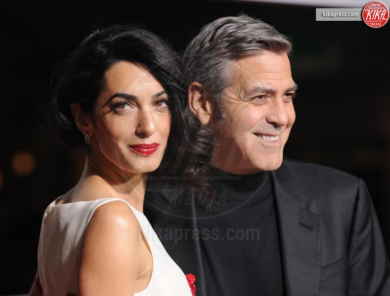 Amal Alamuddin, George Clooney - Westwood - 01-02-2016 - Rimbalzati come ubriaconi, ma sono vip